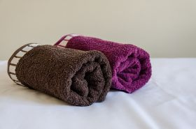 Two towels for each guest